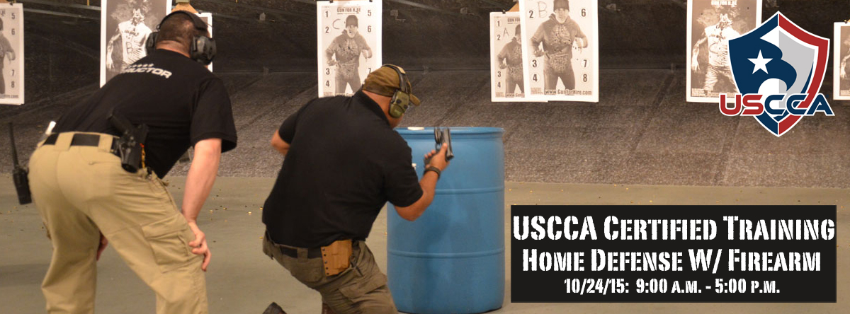 USCCA: Home Defense with Firearm